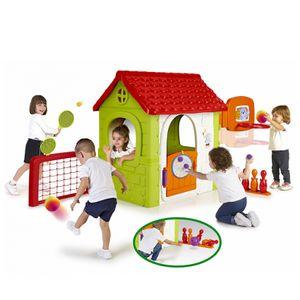 FEBER - 6 in 1 Haus mit mehreren Aktivitäten -800012606