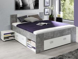 "Bett Einzelbett Bettrahmen Kompaktbett Bettanlage Bettgestell ""Belfast I"""