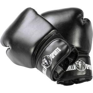 Profi Boxhandschuhe  10 oz - Schwarz
