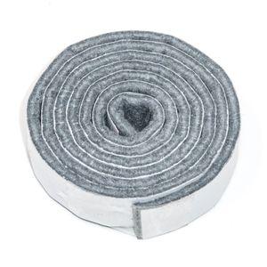 3 x selbstklebendes Filzband zum Zuschneiden | 19x1000 mm | Grau | rechteckig | 3.5 mm starker selbstklebender Filzzuschnitt in  von Adsamm®