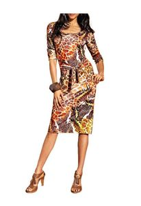 APART Jerseykleid, bunt Kleider Größe: 34