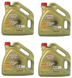 GroßhandelPL Castrol Edge Synthöl 0W-40 CAS-003 Motorenöl, 4er Pack 4 x 4 L