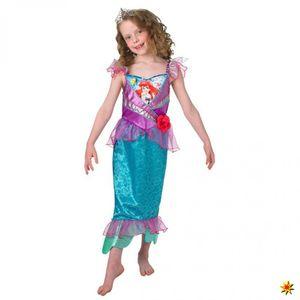 Kostüm Meerjungfrau Arielle für Kinder, Größe:M (5-6 Jahre)
