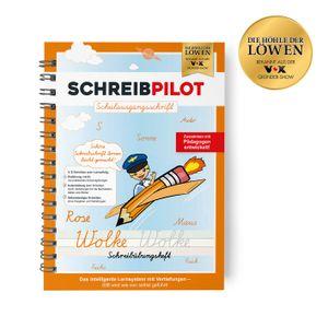 Schreibpilot Heft Schreibschrift - Schulausgangsschrift - mit Bleistift und Radiergummi - DIN-A4