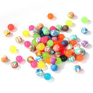 WELLGRO Flummi bunt gemischt Ø 19 mm - bunte Flummis, Springball, Mitgebsel, Tombola - Menge wählbar, Stückzahl:120 Stück