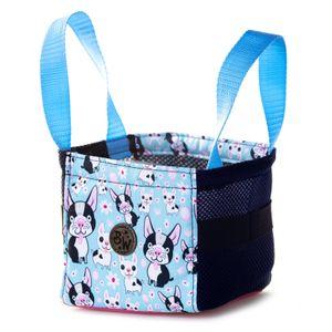 BAMBINIWELT Musikbox-Tasche Transporttasche Tasche für Hörwürfel z.B. Toniebox und Tigerbox Touch Halterung für Tonies KLEIN Modell 6