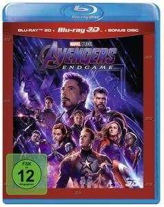 Blu-Ray Avengers: Endgame 2D & 3D Nachfolge