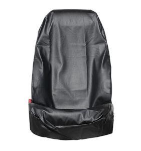 1 Stück Sitzschoner schwarz  Werkstatt Sitzbezug aus Kunstleder KFZ Schonbezug