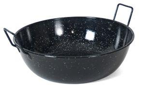 Gerimport wokpfanne Honda 28 cm Edelstahl / Bienenwachs schwarz