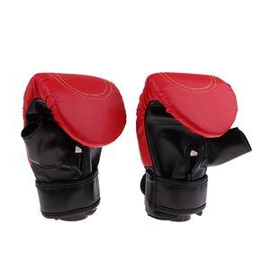 1 Paar Boxhandschuhe rot wie beschrieben