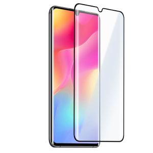 Xiaomi Mi Note 10 Lite 9H Glas-Schutzfolie – Rand Schwarz