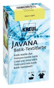 KREUL Javana Batik-Textilfarbe, 70g Neon-Light