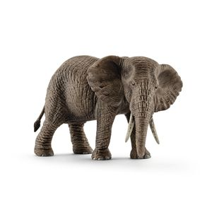 Schleich - Tierfiguren, Afrikanische Elefantenkuh; 14761