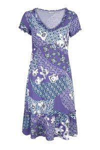 Cheer Damen Kleid, flieder-bunt, Größe:34
