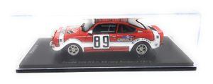 Fox18 1:43 Skoda 200 RS no 89 Sumava Rallye 1975 Sedivy Janecek Resin Kunststoff Vitrine
