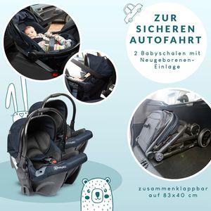 BabyGo Babyschale Twinner Car Seat (2 Stück)