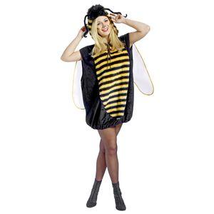 Biene Unisex Kostüm mit Flügeln zu Karneval Fasching Gr.S