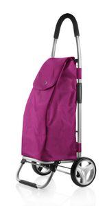 """Einkaufstrolley """"Shop Cruiser"""" in lila, faltbar, mit 40l Volumen - belastbar bis 30kg"""