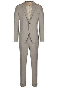 Größe 48 WILVORST Special Offers Drop8 Super Slim Fit Anzug Beige Seitenschlitze  481204/82