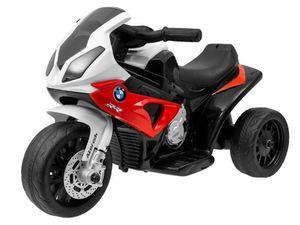 Kinder Elektromotorrad Bmw Kindermotorrad Dreirad Elektro Lizenz, Farbe:Rot