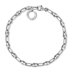 Thomas Sabo Rebel X0255-637-21 Charm-Armband Silber 20 cm