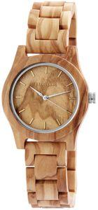 Excellanc Uhr Holz Armbanduhr hellbraun 1800156-001