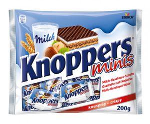 Knoppers Minis Gefüllte Waffelschnitte 200 g