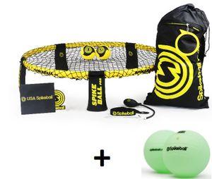 Spikeball Pro Set mit 2 Bällen + 2er Pack Glow Balls