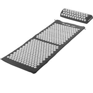 MOVIT® Akupressurmatte mit Kissen 130x50, grau