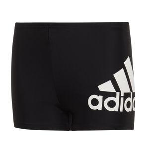 adidas Boxer Badehose aus weichen und elastischem Material für Jungen, Farbe:Schwarz, Kinder Größen:164