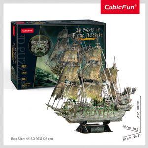 Cubic Fun - 3D Puzzle Flying Dutchmann Fliegender Holländer Schiff Piratenschiff LED
