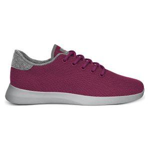 GIESSWEIN Damen Sneaker Merino Wool Knit Burgunder 39