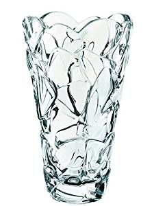 Nachtmann Vorteilsset 2 x  1 Glas/Stck Vase 254/17/28cm Petals  88336 und Gratis 1 x Trinitae Körperpflegeprodukt