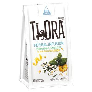 Ti Ora Tee, Pfefferminztee mit Ringelblume und Zitrone, 15 Beutel