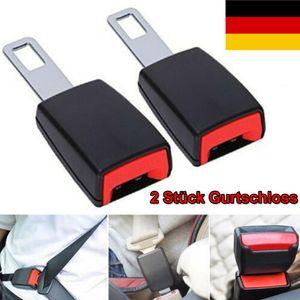 2tlg Auto Sicherheit Sitzgurt Extender Verlängerung Schnalle Lock Clip adjutable, 120mm, Passt fast alle autos