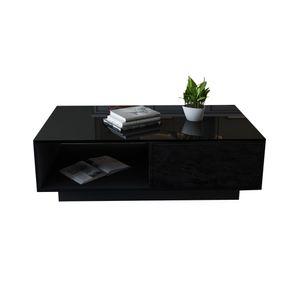 Couchtisch Kaffeetisch Wohnzimmer Beistelltisch Sofatisch mit Aufbewahrung Schublade
