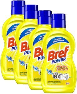 Bref Sidol Universal Entkalker Aktiv-Zitronensäure Sauberkeit 4x500 ml Reiniger