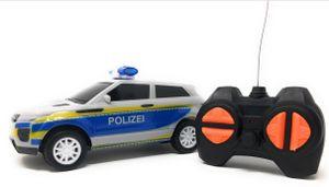 Toi-Toys Deutscher lenkbarer Polizeiwagen 16 cm