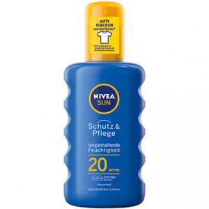 NIVEA sun Schutz & Pflege & sun Protect & Refresh Sonnenmilch Sonnenspray, Wähle deine Farbe:Schutz&Pflege 250ml LSF20, Größe:250 ml