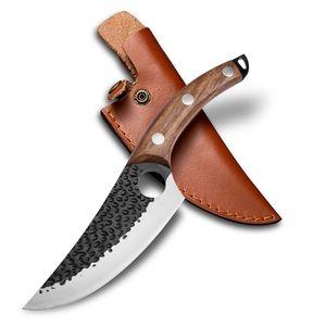 KEPEAK Ausbeinmesser Huusksmesser Schlachtermesser Japanische Messer Buschmesser Outdoor Mit Scheide