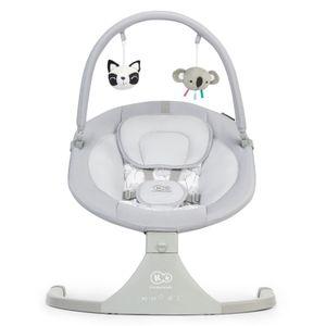 Elektrische Babywippe 2 in 1 LULI von Kinderkraft grau