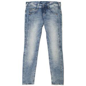 19887 Herrlicher, Gila Slim,  Damen Jeans Hose, Stretchdenim, crystal blue, W 30 L 32