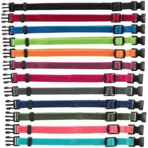 Trixie Welpenhalsbänder - 6er-Set 1 S-M = 17-25 cm