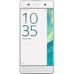 Sony Xperia XA Smartphone 5 Zoll (12,7 cm) 16GB schwarz / weiß, Farbe: weiß
