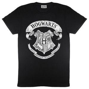 Harry Potter - Mono Logo T-Shirt für Damen PG572 (L) (Schwarz)