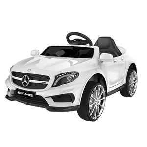 Mercedes-Benz Amg Gla45 Kinderauto 12V 2x35W  Kinderfahrzeug Kinder Elektroauto Mp3, Farbe:weiß