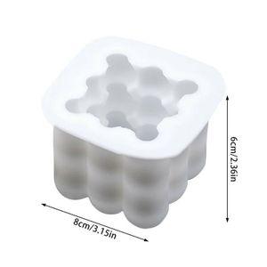 Silikon Gießformen Kerzengießform Kerzenform Kerze Form Mold 3D Kerzenformen, 6cm X 8cm