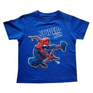 Spiderman Jungen Tshirt, blau, Gr. 98-128 Größe - 110