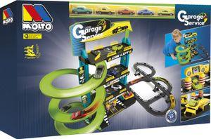 Molto Kinder Park Garage Parkhaus Autogarage mit Spielstraße 4 Ebenen 5 Autos