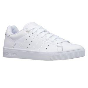K-SWISS Court Frasco II Herren Sneaker Sportschuhe 06596-101-M Weiß, Schuhgröße:43 EU